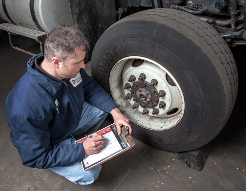 Commercial Truck Maintenance And Inspection
