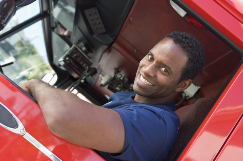 CDL License Careers - Fire Truck Driver