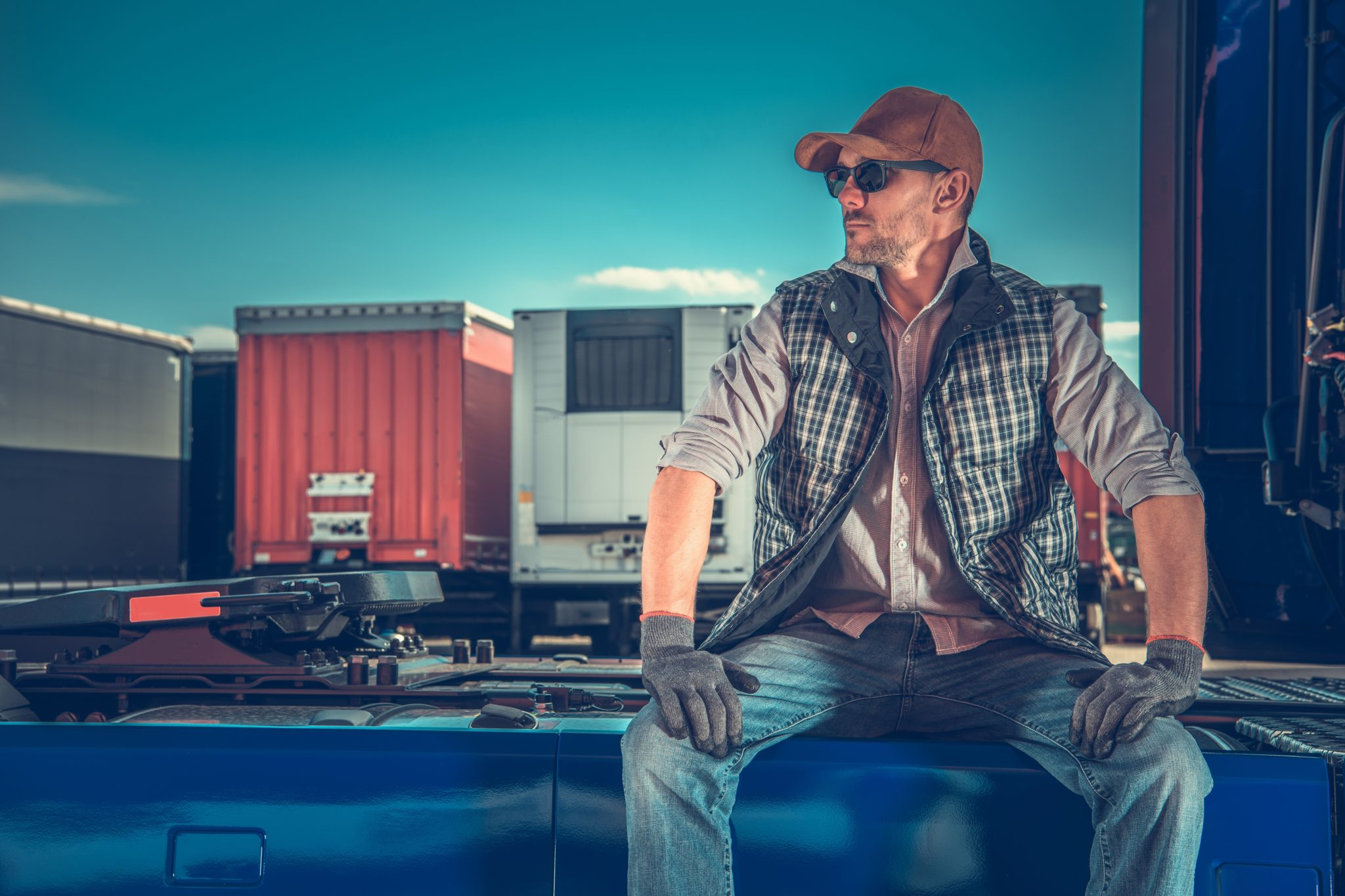 30-minute break - how many hours can a truck driver drive