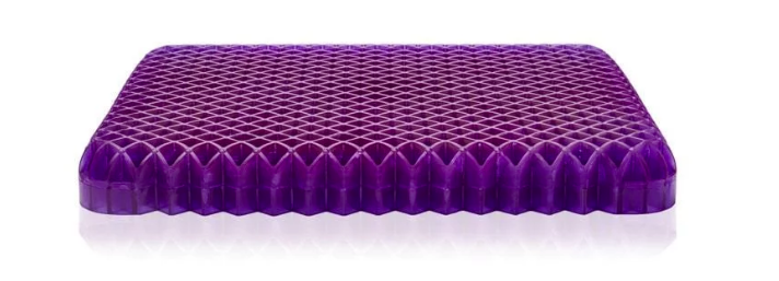 Best Seat Cushion for Truck Drivers - Purple Grid