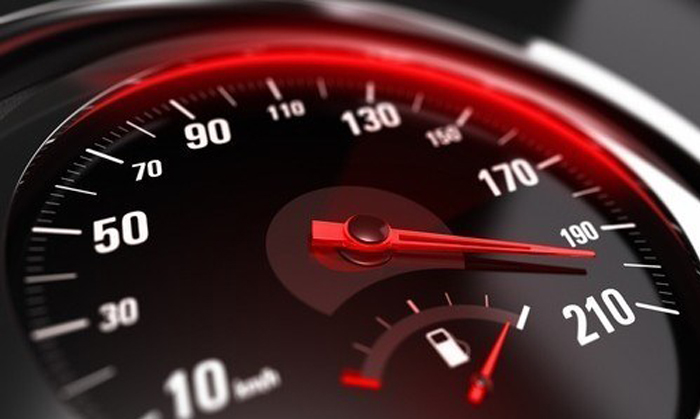 Speedometer Close Up
