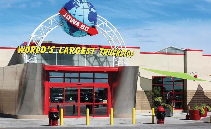 Best Truck Stops In America - Iowa 80 Store Front