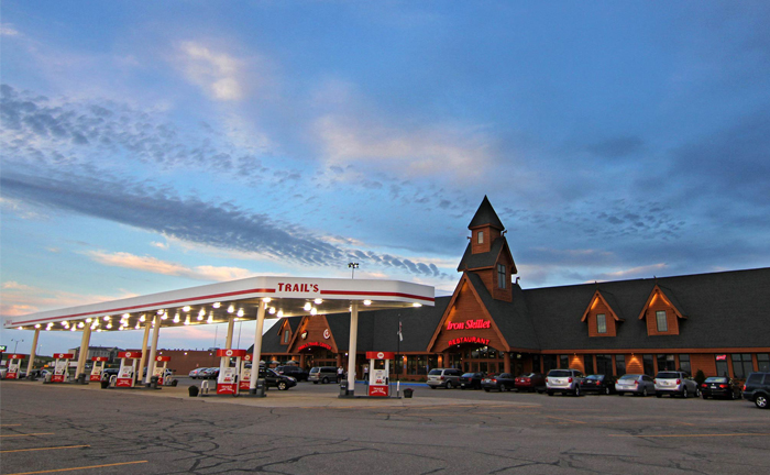 Best Truck Stops In America - Trail's Travel Center Store Front